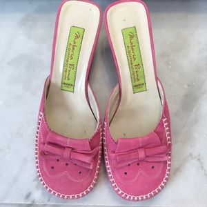 MATERIAL PRIMA GOFFREDO FANTINI 6.5 Mules Pink Sue